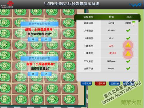 重庆联通行业应用展厅ipad沙盘控制多媒体展示系统-nsstar