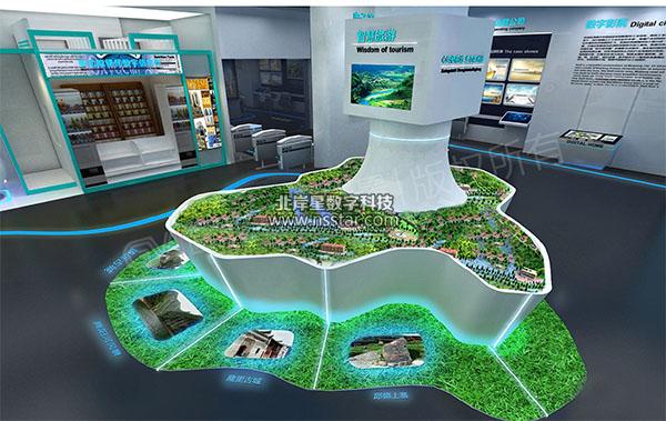 >> 智慧城市一卡通体验中心——数字展馆  智慧城市一卡通数字展厅图片